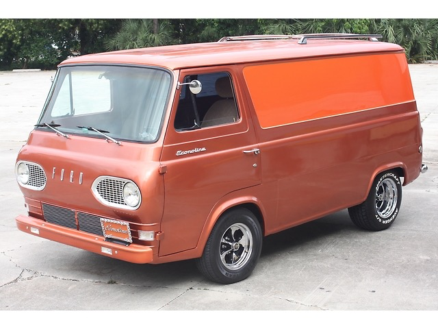 Chevy Parts Store Custom vintage van mods and picture gallery - Vintage Van ...